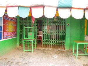 インド・マハーバリプラムの宿