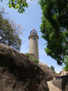 インド・マハーバリプラムの灯台