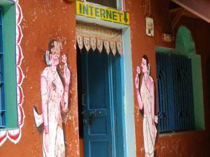 インド、ヴァラナシの宿