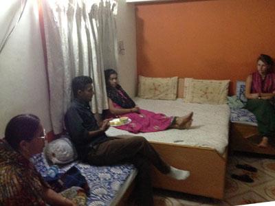 インド、ブジのガイド氏宅