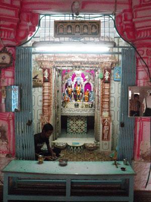 インド、ブジのヒンドゥー寺院