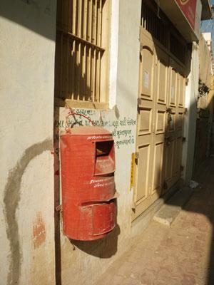 ブジの郵便ポスト