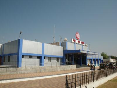 インド、ブジ駅