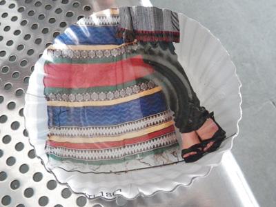 インドの紙皿