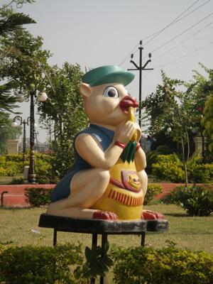 インドで見た変なもの