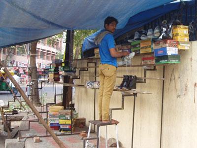 インドの露店