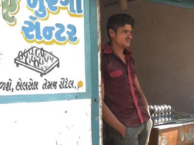 インドの看板
