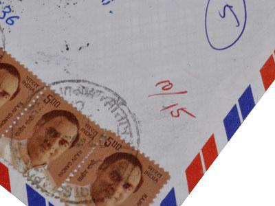 インドからの手紙