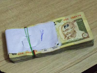 インドの札束