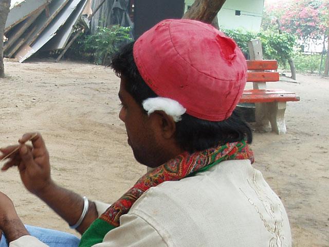 インドの耳かき屋