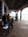 南インド、ケララ州、フォートコーチンのフェリー乗り場