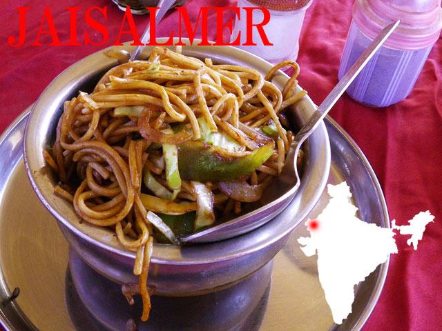 インドの定番中華チョーメン
