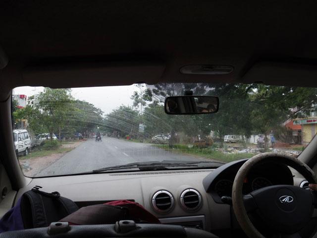 南インド、ケララ州のタクシー