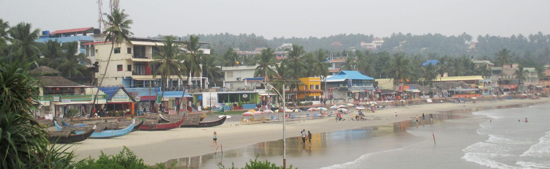 南インド、ケララ州、コヴァラムビーチのホテル「Hotel Sea Face」