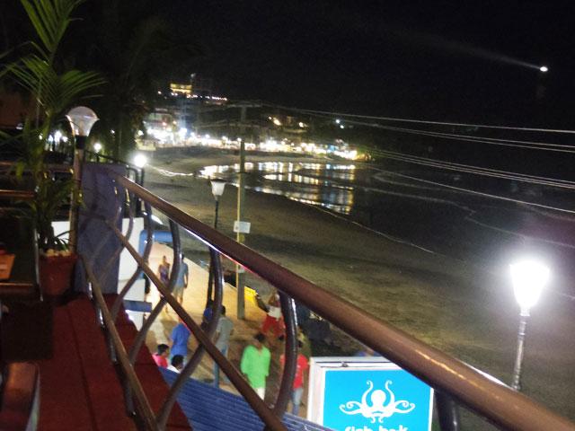 南インド、コヴァラムビーチのシーフード
