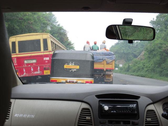 南インド、トリヴァンドラムからデリーへのフライト