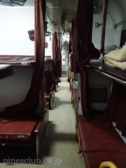 インドの列車内