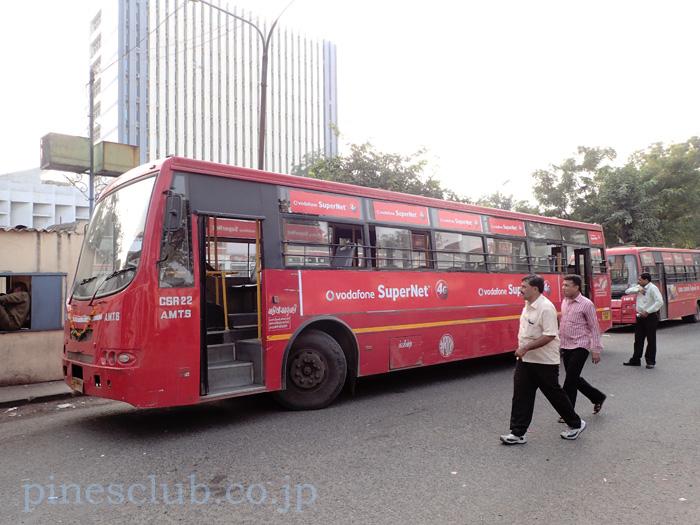 アーマダバードの路線バス
