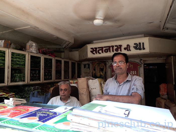 インドの項茶屋はティーバックを扱っていないことが多い。