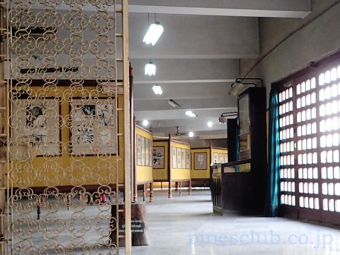 インド・バーヴナガルのガンディーミュージアムの展示物