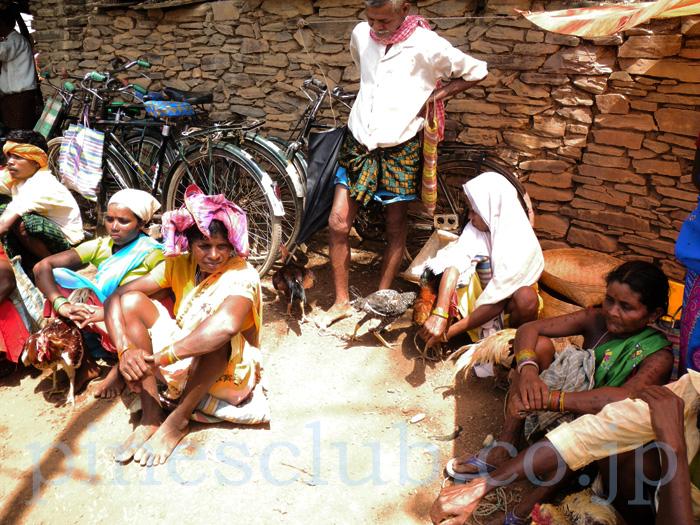 インドの先住民族の人たち