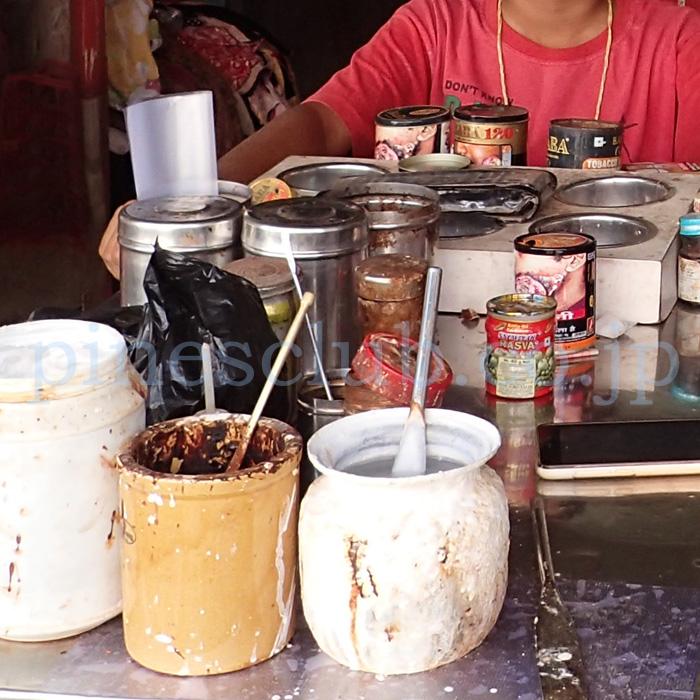インド・街中のパーン屋