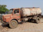 インドの給水タンク車