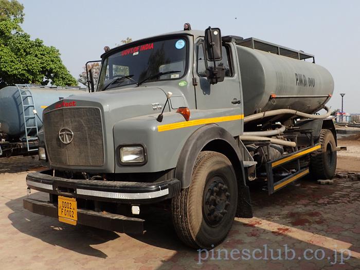 インドの給水車