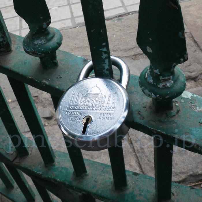 インドの南京錠