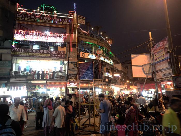 インドのお正月、ディワリでにぎわう町