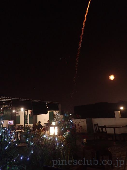 インドのお正月、ディワリの花火