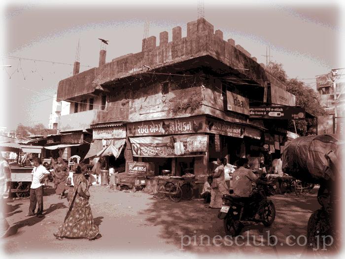 インド、ジュナーガルの肉屋