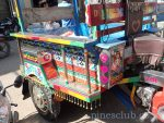 インドのバイク型三輪トラック