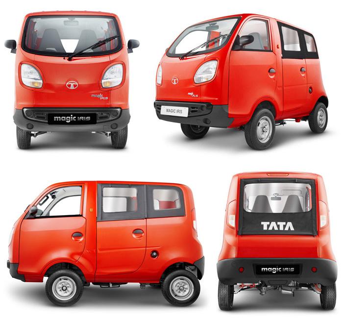 インド版軽自動車、TATA Magic Iris