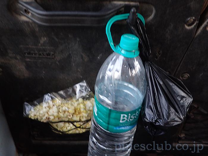 インド、バス旅の食料