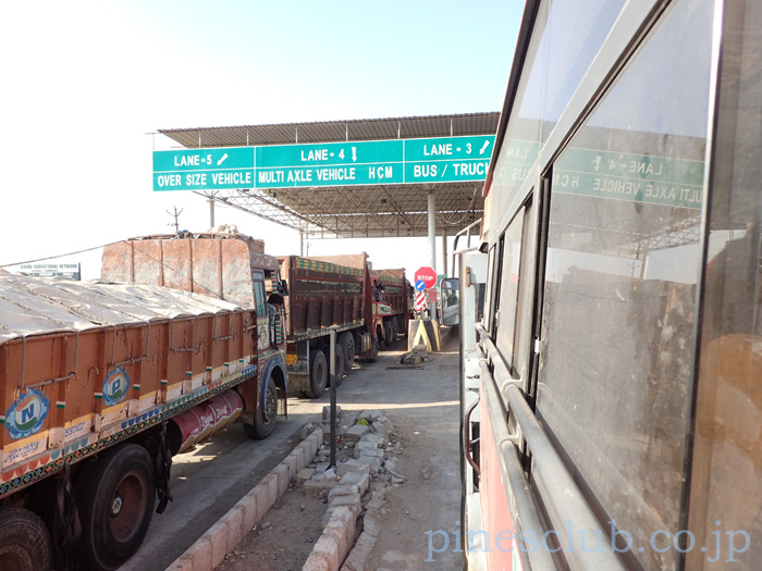 インド、グジャラートの有料道路