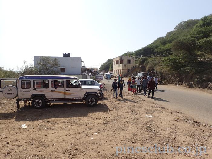 インド、グジャラート州のとある観光地