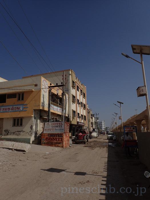 インド、ドワルカのホテル