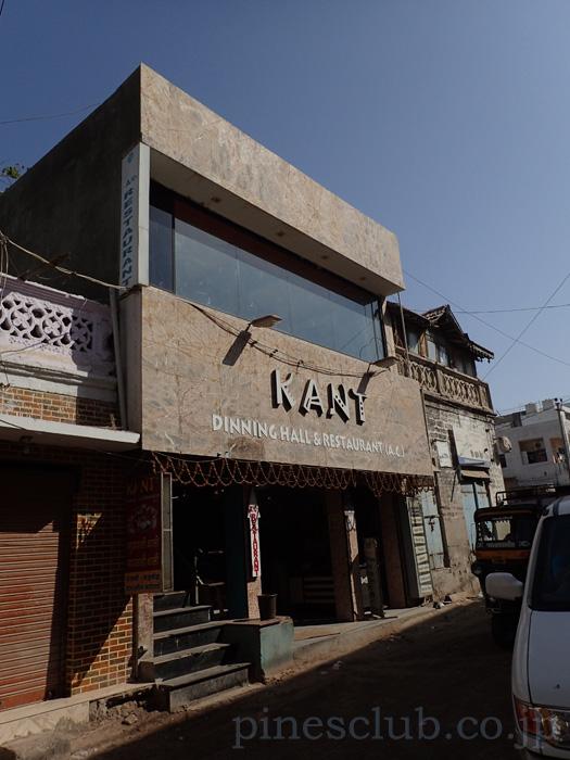 インド、ドワルカのレストラン