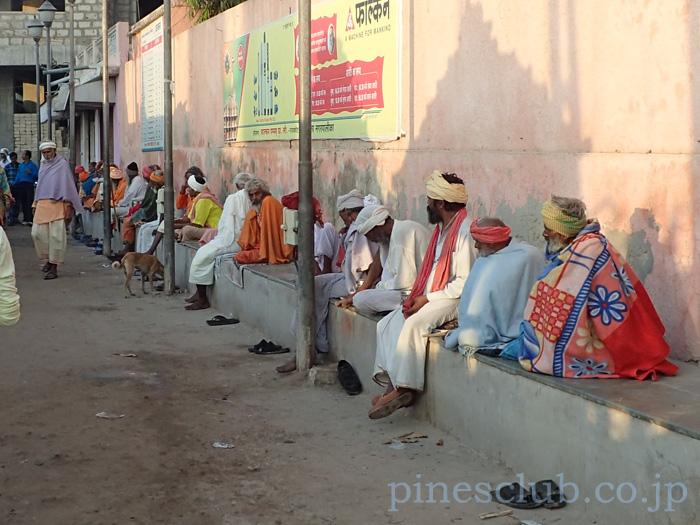 インド、グジャラート州ドワルカのガート