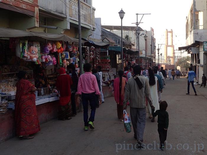 インド、ドワルカのヒンドゥー寺院