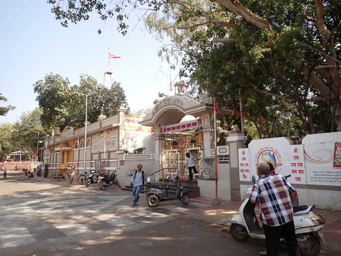インド、グジャラート州、ジャムナガルのスリ・バラハヌマーン寺院