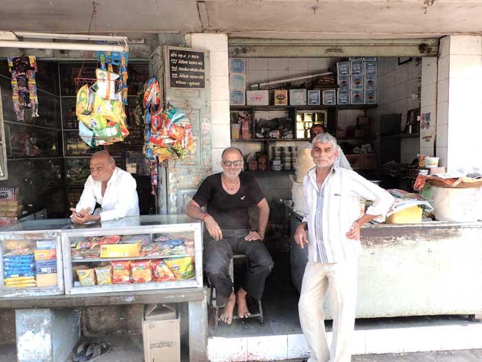 インド、グジャラート州、ジャムナガルの旧市街にあるジャマー・マスジッド