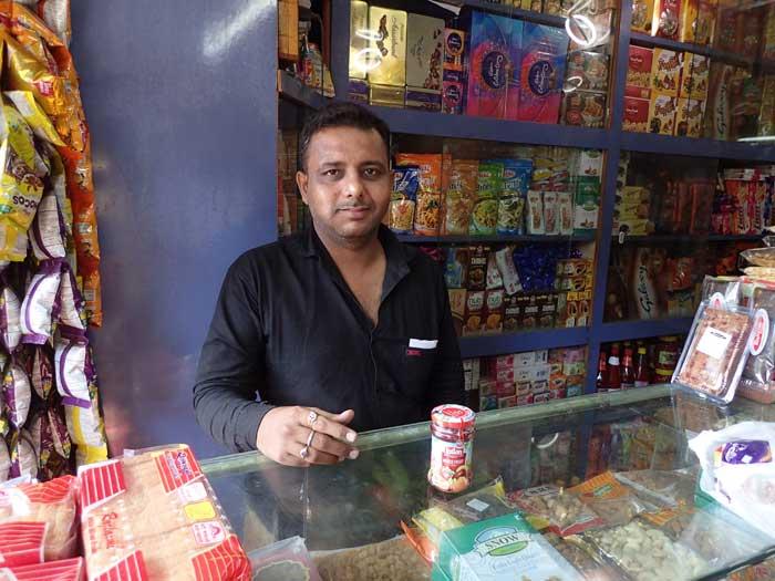 インド、グジャラート州、ジャムナガルのジャム屋