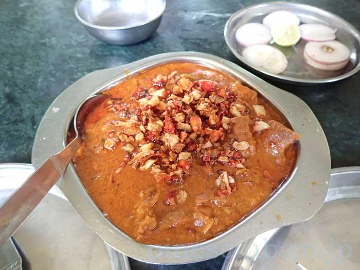 インドのマトンカレー