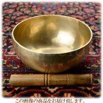 インド・真鍮製のシンギングボウル・スティック(棒)付