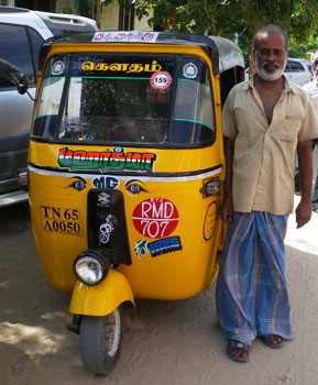 インド・過去最速のオートリキシャ