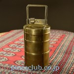 インドの真鍮製弁当箱